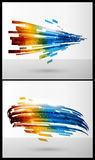 Color elements for abstract background Royalty Free Stock Image