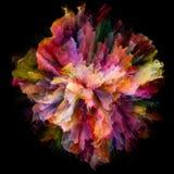 Speed of Color Splash Explosion vector illustration