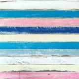 Color en colores pastel de la madera de la pintura Fotos de archivo libres de regalías
