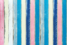 Color en colores pastel de la madera de la pintura Foto de archivo