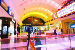 Color entrance at Dubai Mall Stock Photography
