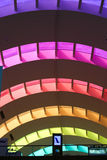 Color entrance at Dubai Mall Stock Photography