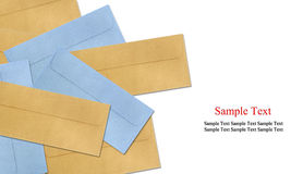 Color Envelope Isolated Royalty Free Stock Image