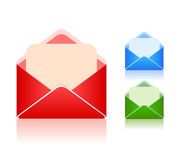 Envelope icon Stock Photos