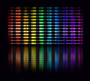 Color equalizer Royalty Free Stock Photo