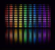 Color equalizer stock illustration