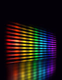 Color equalizer perspective Royalty Free Stock Image