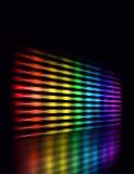 Color equalizer perspective stock illustration