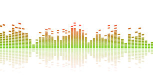 Color equalizer vector Stock Photography