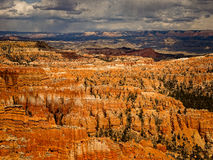 Color espectacular Bryce Canyon Fotografía de archivo libre de regalías