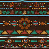 Color ethnic pattern Royalty Free Stock Photo