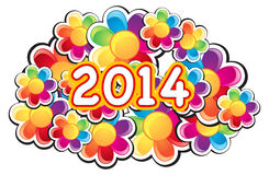 Color 2014 Stock Image