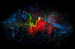 Color explosion Royalty Free Stock Photo
