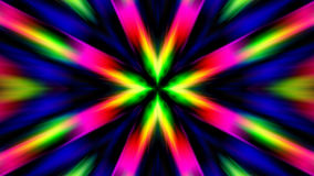 Rainbow Sunburst Motion Color Explosion Rays of Light Stock Photos