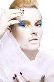 Color extravagante del maquillaje Fotos de archivo