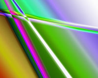 Color extrusion pyramids and blocks Abstract colorful 3D extrusi Royalty Free Stock Photo