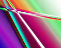 Color extrusion pyramids and blocks Abstract colorful 3D extrusi Royalty Free Stock Image