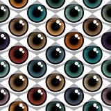Color Eyes Pattern Royalty Free Stock Photos