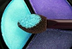 Color eyeshadows Royalty Free Stock Photos