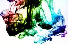 color färgpulver Royaltyfri Fotografi