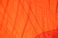 Color fabric orange Texture  used as background. Stock Photography
