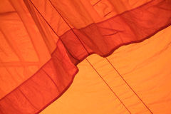 Color fabric orange Texture  used as background. Royalty Free Stock Image