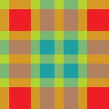 Color fabric plaid. Seamless vector illustration. Stock Photo