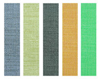 Color fabric texture sample for interior design Royalty Free Stock Photo