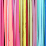 Color fabrics Royalty Free Stock Photo