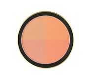 4 color face powder isolated on white background Stock Images