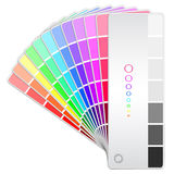 Color fan Royalty Free Stock Photos
