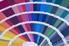 Color Fan Stock Photo
