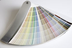 Color Fan Full Royalty Free Stock Image