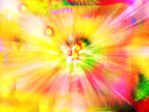 Color Fantasy. Explosion of color Royalty Free Stock Photo