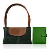 Color fashion bag Royalty Free Stock Images