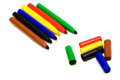 Color felt-tip Stock Image