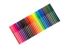 Color Felt Tip Pen Royalty Free Stock Photo