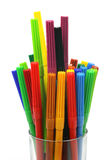 Color felt tip pens Stock Image