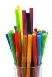 Color felt tip pens Stock Image