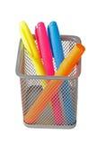 Color felt-tip pens Stock Photography