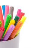 Color felt-tipped pens Royalty Free Stock Images