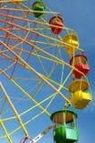 Color ferris wheel Stock Photography