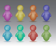 Color figure Royalty Free Stock Image