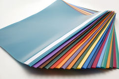 Color files. Color files on white background Stock Images