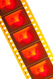 Color film leader Royalty Free Stock Photography