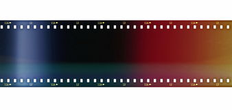 Color film roll background Stock Photo