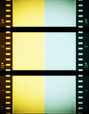 Color film strip background Stock Photo