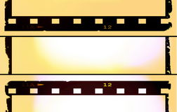 Color film strip background Royalty Free Stock Photography