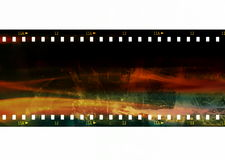 Color film strip background Stock Photos