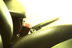 The color filter of car seat. The color filter of car seat photo represent the interior car part concept related idea royalty free stock images